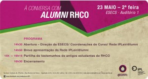 Convite – À conversa com Alumni de RHCO